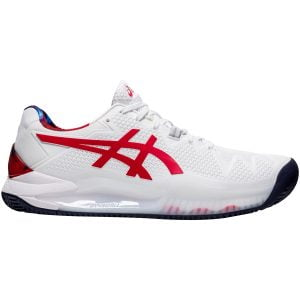 Asics Gel-Resolution 8 Clay Court Shoes – 1041A293-110